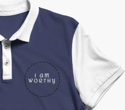 i am worthy schnitt blue