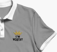 i am worthy schnitt grey